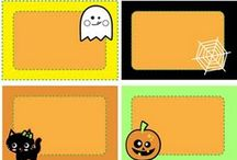 halloween tags / Paper craft