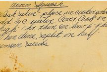 Handwritten Recipes  all with Love / by Linda Schache