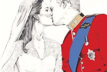 KATE AND WILLIAM WINDSOR........... / by Nancy