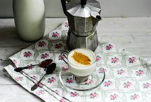 Caffè al latte di mandorle