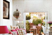 balconies and living rooms