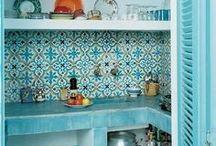 Moroccan home interior