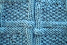 Stitch ideas and knitting techniques