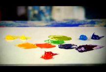 demo peinture / video , pas a pas peinture dessin