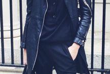 Black hat & fur vest
