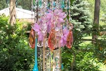 chime and dream catcher