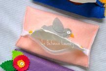 Tissue pocket holders
