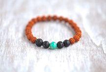 Rudraksha Lava Beads