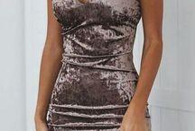 вельветовые платья