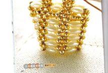 kabelky z korálků
