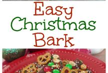 Christmas Holiday Snack Recipes / Recipes for delicious snacks I might want to make for Christmas eve and Christmas day.