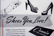 Gorgeous shoe illustrations