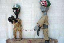 MALI, Sogo Bo / Marionttentheater der Bambara und Bozo * * * * *  Puppet show of the Bamana and Bozo