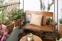 balcony ideas / by Michelle Harder Luff