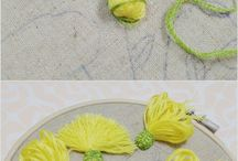 DIY Flowers & ruffles