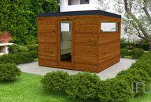 Standard modelljeink 3D-s környezetben / www.inuasauna.hu