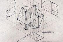 zlatý řez Posvátná geometrie