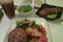 Vegetarians Menu / my lunch at my favorite vegetarian resto in Jakarta