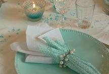 stoły dekoracje
