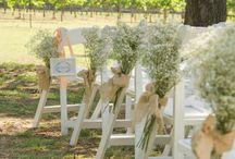 Detalles de ceremonia. / Mil ideas para cada rincón de tu ceremonia.