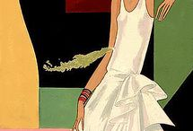 Illustrated Vintage Magazine Covers / Early illustrated Vogue Covers #Early #Vogue #VintageCovers