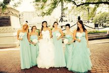 Bridesmaids picture; blue and white wedding; gorgeous background; Marine wife / Bridesmaids picture; blue and white wedding; gorgeous background; Marine wife / by Elyse Leahy