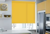 Blinds: It's a Beautiful Yellow / Improve the decor of your house with the choice of sunshine yellow blinds
