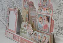 cascade cards & fancy folds/cuts / by Linda Maitland