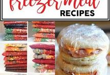 Freezer Meals / Easy and Healthy Meals