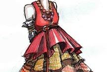 fashion illustrations / fashion illustrations, artist, art, illustration, fashion, fashion design
