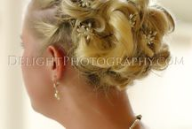 Bridal Hair Updo's & Accessories