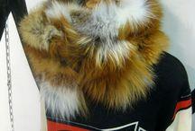 Secret Fashion Label Scarf Fox