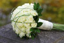 Esküvőre menyasszonyi csokor