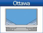 """Ottawa Model by San Juan Fiberglass Pools / Ottawa  Width 16' / 4.88M Length 36' / 10.97M Depth 4' 9"""" / 1.45M Area 525ft2 / 49.0M2 Volume 13,800G / 52,239L WWW.SANJUANPOOLS.COM"""
