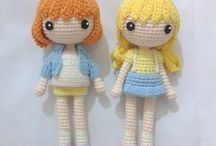 hair amigurumi