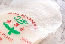 VIETNAMESE RICE PAPER ROLLS