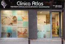 Clínica Atlas / Instalaciones de una clínica de fisioterapia