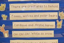 Arctic animals theme - January - pre-k (2.5-5 year olds)
