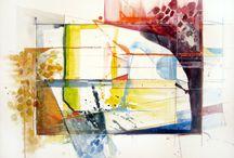 Large Watercolors
