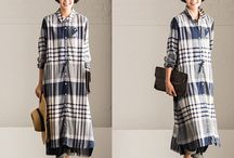 Long dress & Sleeves