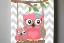 Baby Room Canvases
