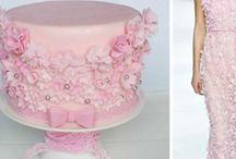 tort i sukienka