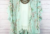 Kimonos and caftans