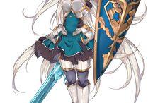 Personagens para os anime