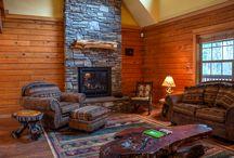 Log Cabin Decor in Mt Hood Vacation Rentals