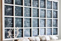 DIY - chalkboards