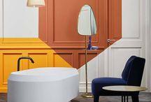 Style Scandinave : Une salle de bains Graphique et Fonctionnelle / Relookez votre salle de #bains en mode #Scandinave, faites vous plaisir. Idées Déco pour votre #baignoire, vos #lavabos, vos #peintures, vos #meubles de salles de bains.  www.hydropolis.fr  #Bathroomdecor #deco #Scandinave #Scandinavian #lifestyle #homesweethome #Interiordesign #homedecor