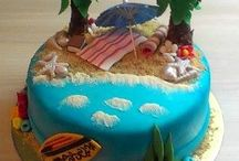 Beach and water themed cakes | Strandos, vízpartos torták