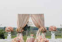 Svatební obřad látky