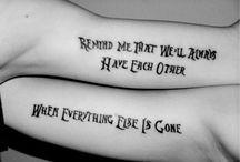 Tattoos / by M Eckert